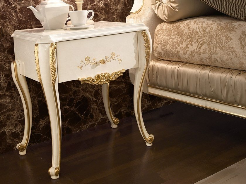Bedside table with drawers RICASOLI | Bedside table by A.R. Arredamenti