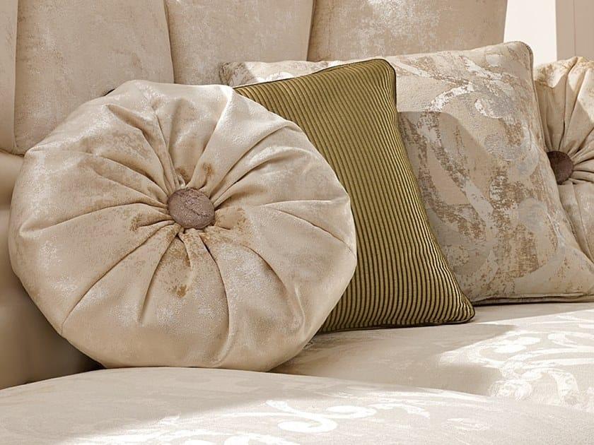 Fabric sofa cushion RICASOLI | Cushion by A.R. Arredamenti