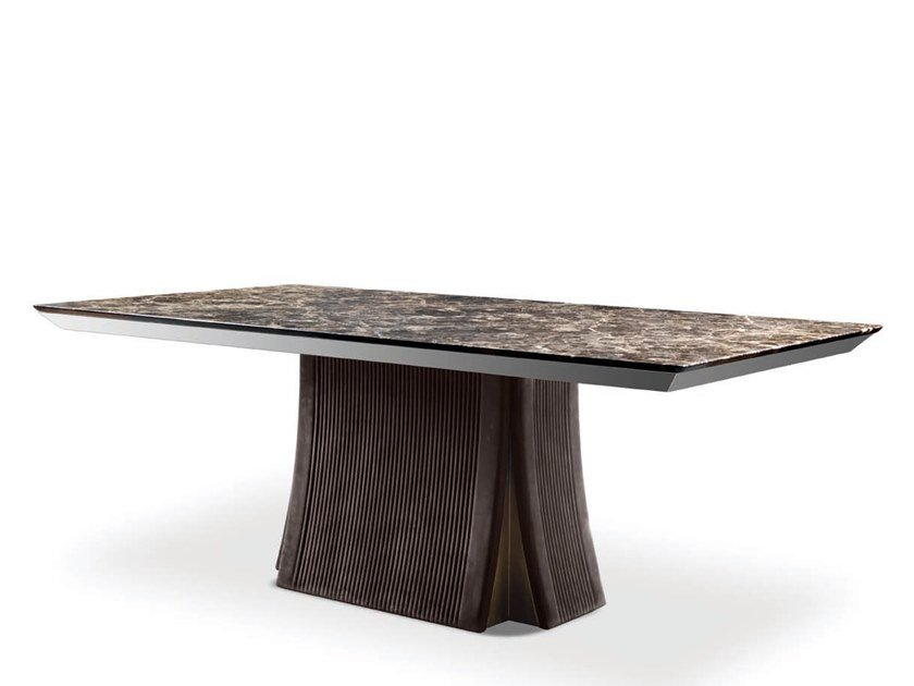 Rectangular dining table RICHARD - 800101 | Table by Grilli