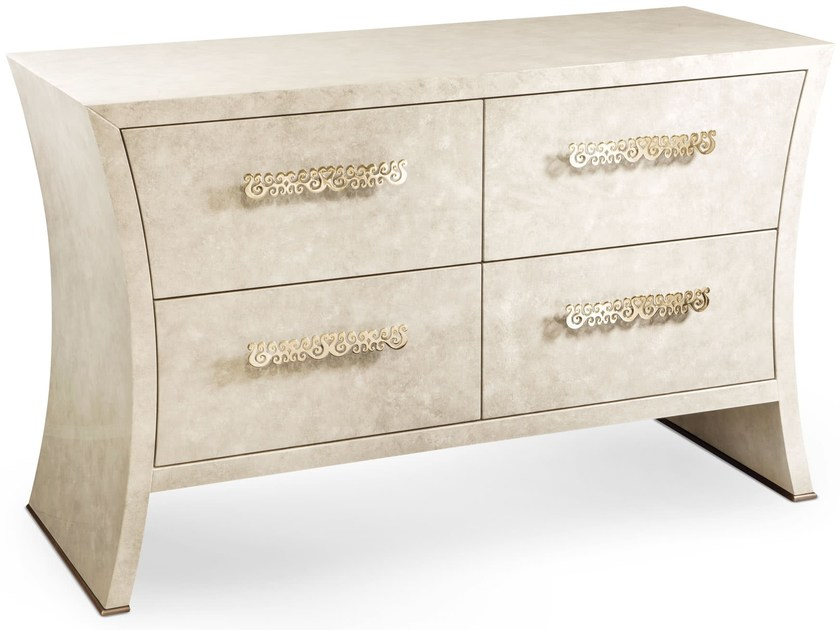 Wooden chest of drawers RICHARD | Chest of drawers by Cantori