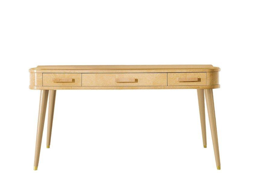 Rectangular wooden console table with drawers RICHMOND UPON THAMES | Console table with drawers by Barnini Oseo