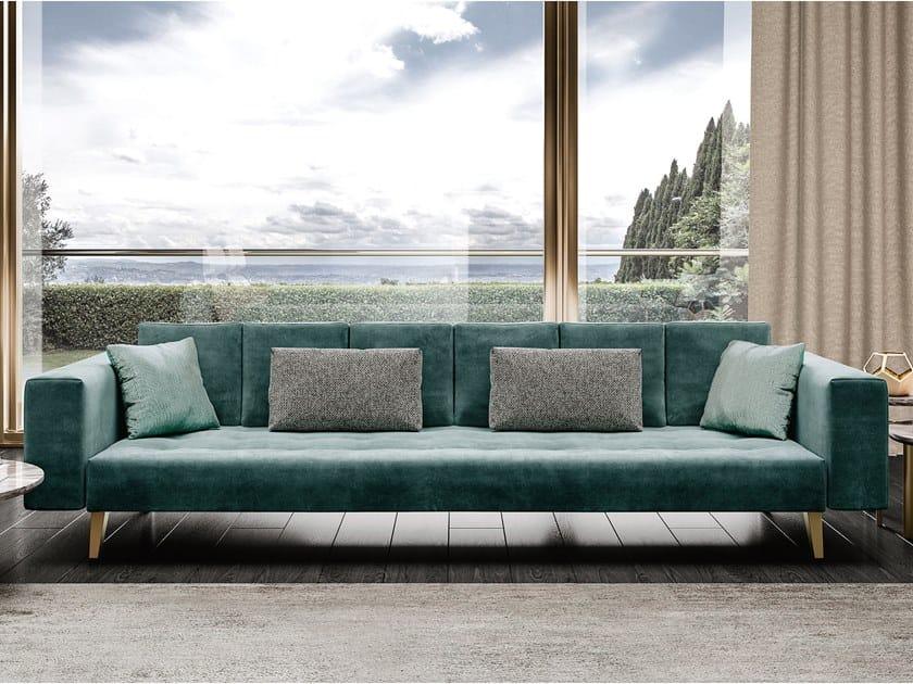Tufted leather sofa RICHMOND UPON THAMES | Tufted sofa by Barnini Oseo