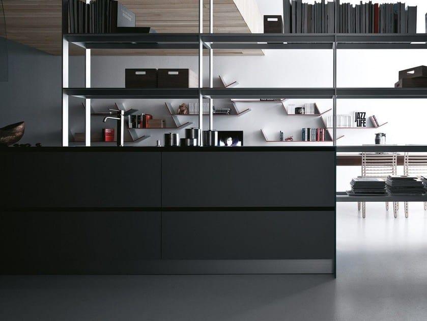 Laminate fitted kitchen riciclantica laminato autunno soft by valcucine