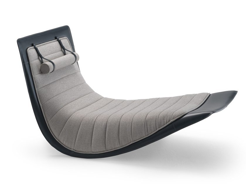 Tilting chaise longue RIDER by Zanotta