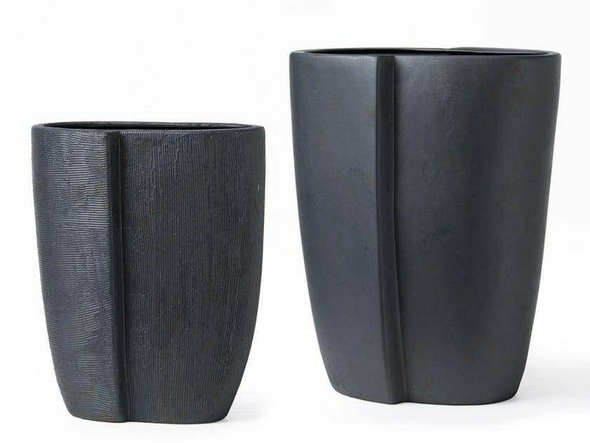 Ceramic vase RIFLESSO | Vase by Adriani e Rossi edizioni