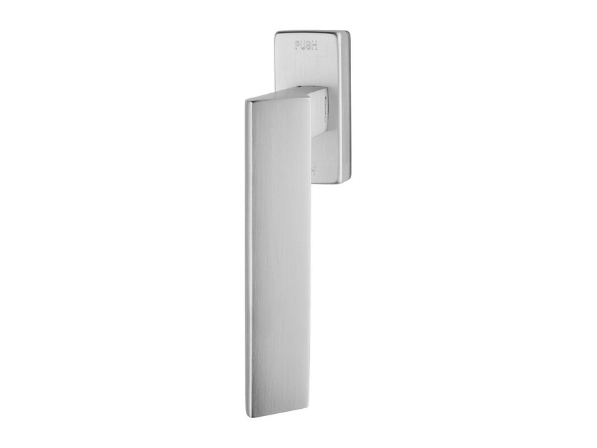 Contemporary style anti-intrusion DK brass window handle RIFLESSO | Anti-intrusion window handle by LINEA CALI'