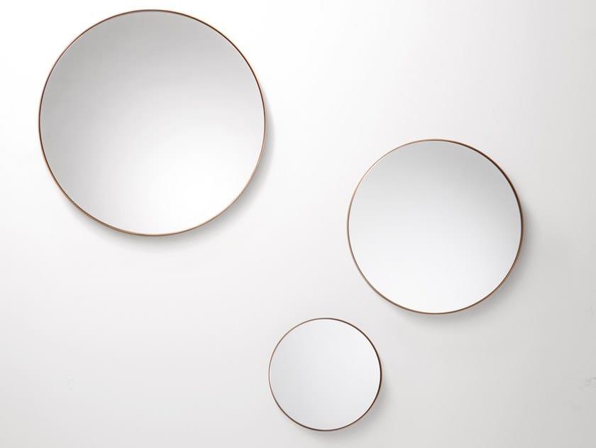 Specchio rotondo da parete RIFLESSO by DE CASTELLI