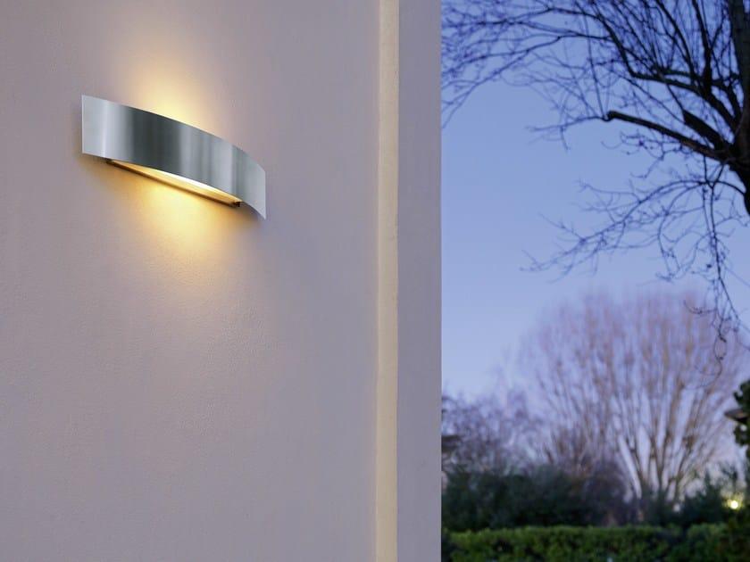 RIGA | Applique per esterno a luce diretta e indiretta