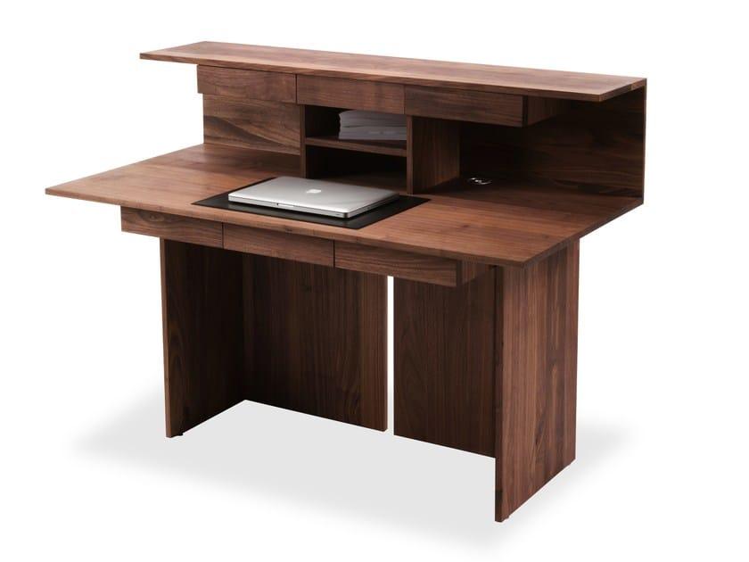 Wooden secretary desk RIGA by Riva 1920