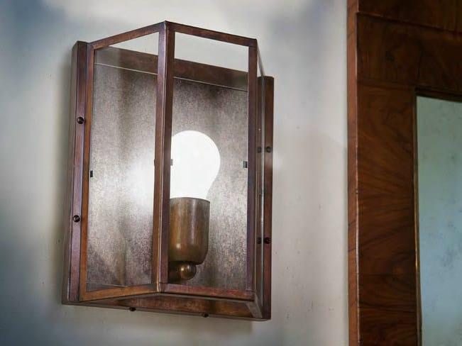 Direct-indirect light wall light RIGOLETTO by Aldo Bernardi