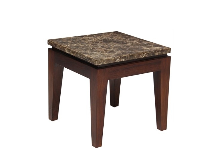 Low square side table RIKO | Side table by WARISAN