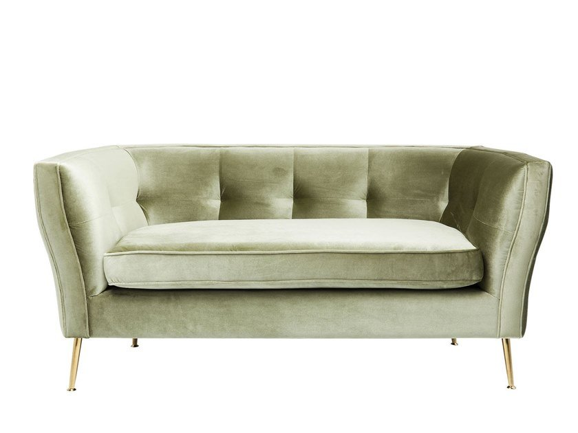2 seater fabric sofa RIMINI | 2 seater sofa by KARE-DESIGN