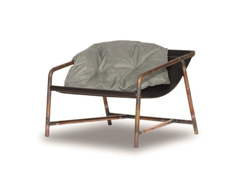Metal garden armchair RIMINI   Garden armchair by BAXTER