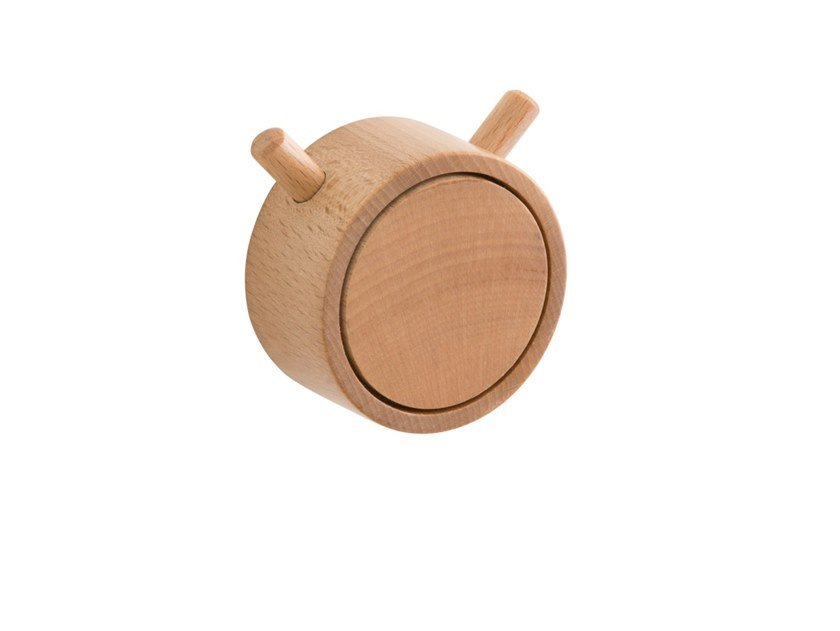 Wall-mounted wooden coat rack RING | Coat rack by EVER Life Design