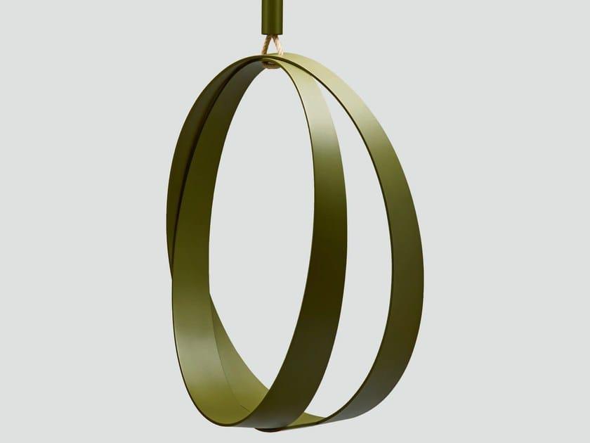 Metal Garden Hanging Chair RING O By Da A