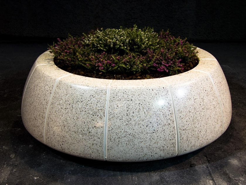 Flower pot RING REVERSE by Bellitalia