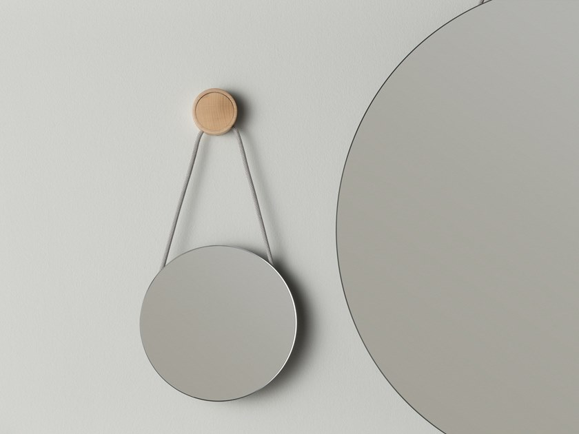 Round wall-mounted bathroom mirror RING | Mirror by EVER Life Design