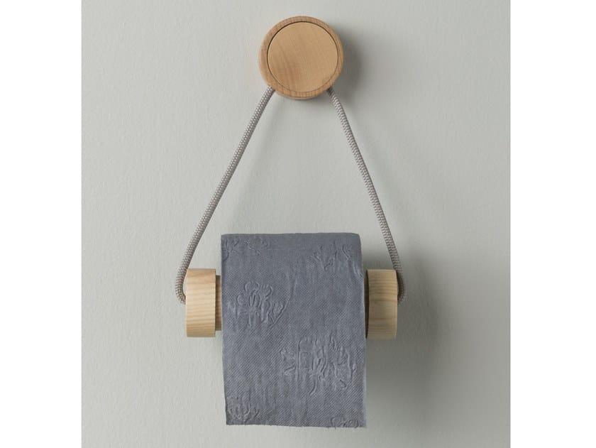 Wooden toilet roll holder RING | Toilet roll holder by EVER Life Design