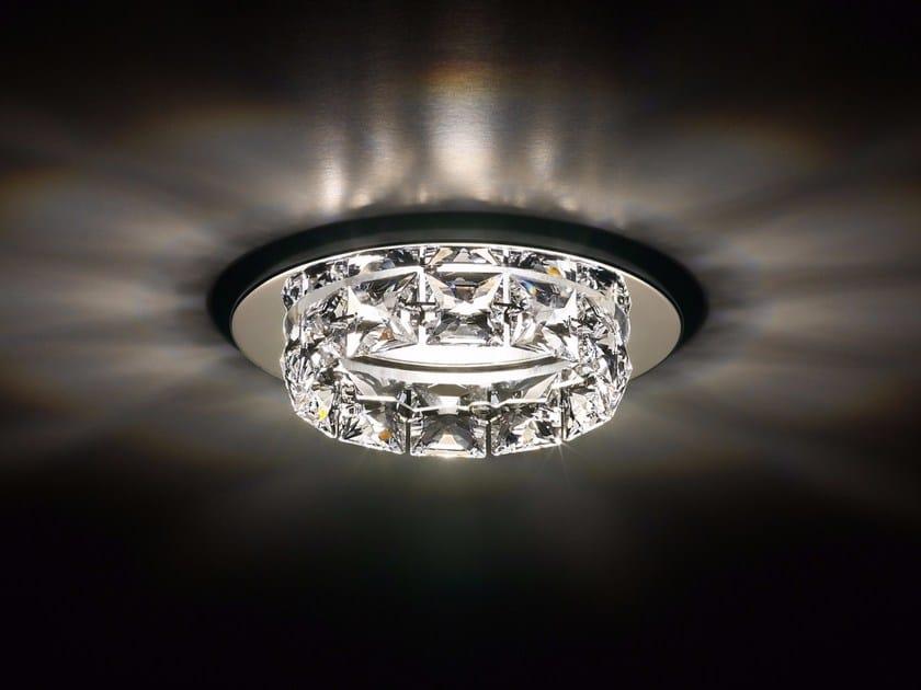 Halogen recessed crystal spotlight RINGLET by Swarovski