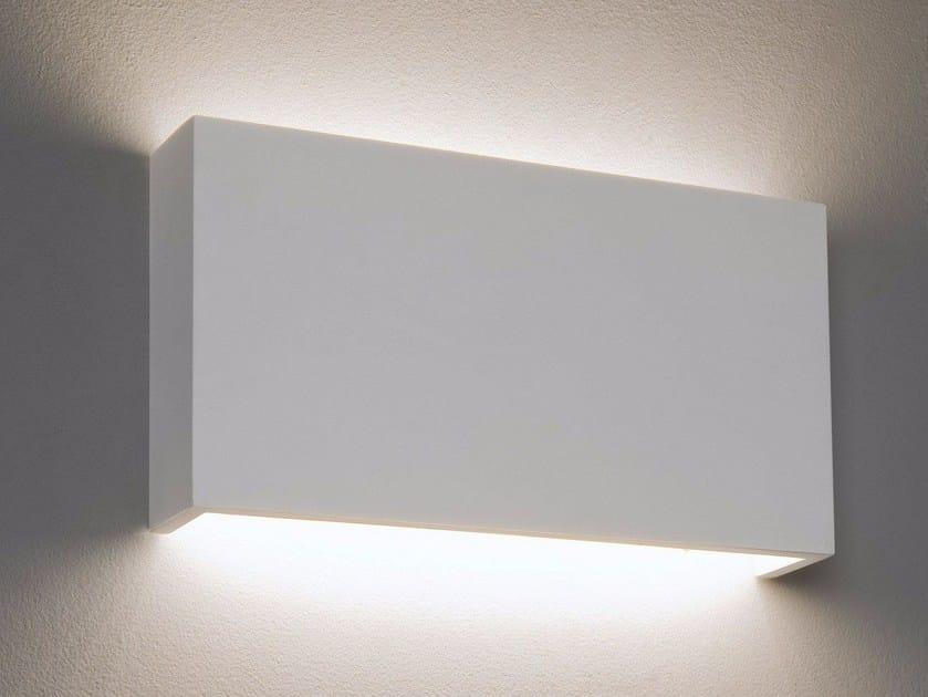 LED direct-indirect light gypsum wall light RIO by Astro Lighting