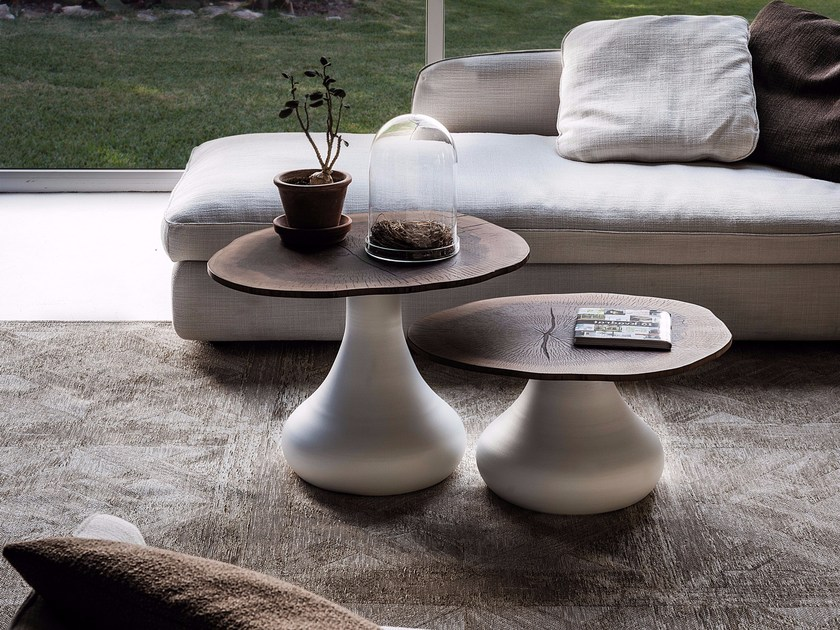 Round MDF coffee table RIO by Cattelan Italia