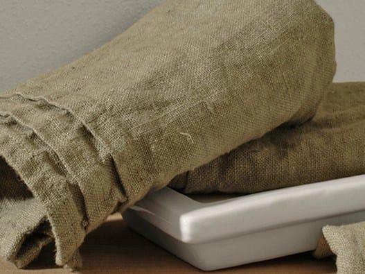 Linen bath Towel RIPRESE&RIBATTUTE | Bath Towel by LA FABBRICA DEL LINO