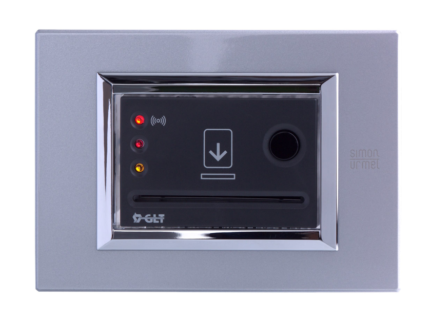 Electronic plastic card lock for hotels RISPO by GLT