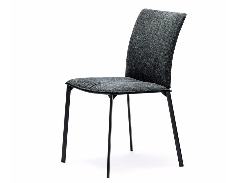 Upholstered fabric chair RITA by Cattelan Italia