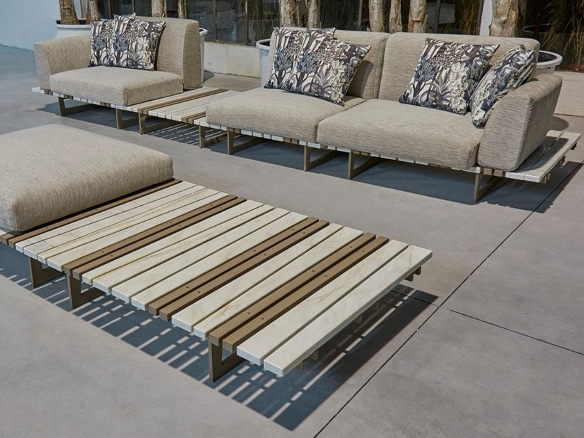 Sectional marble sofa RITAGLI | Sectional sofa by FranchiUmbertoMarmi