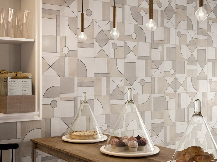 Porcelain stoneware wall tiles with encaustic effect RITUAL DECOR 2020 by CERAMICA SANT'AGOSTINO