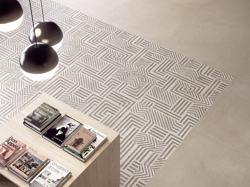 Porcelain stoneware wall/floor tiles with encaustic effect RITUAL TRIBAL 2020 by CERAMICA SANT'AGOSTINO