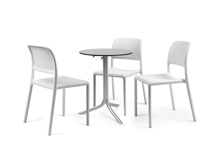 Stackable polypropylene restaurant chair RIVA BISTROT by Nardi