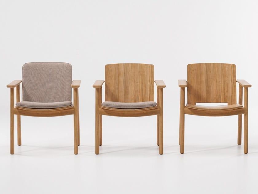 Teak garden chair RIVA | Chair by Kettal