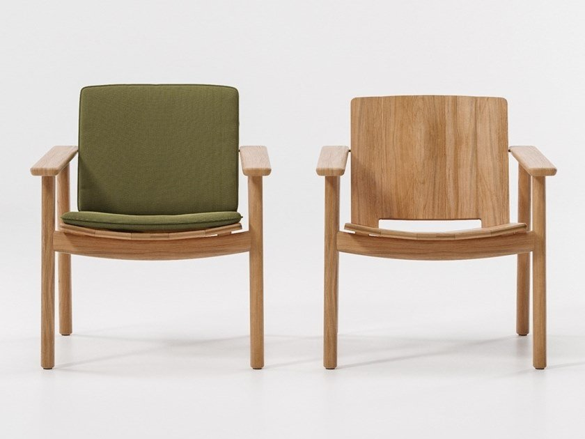 Garden teak easy chair RIVA | Easy chair by Kettal