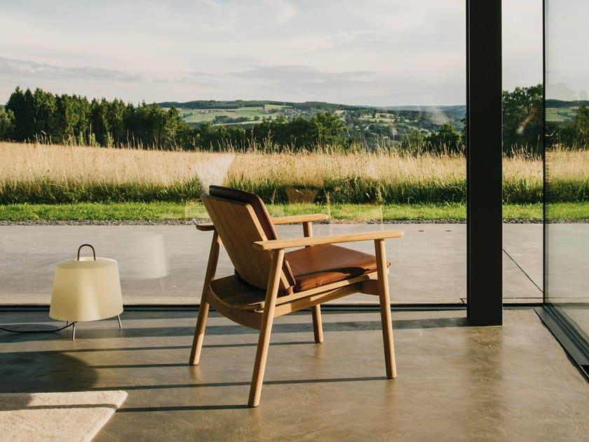 Teak garden armchair RIVA | Easy chair by KETTAL