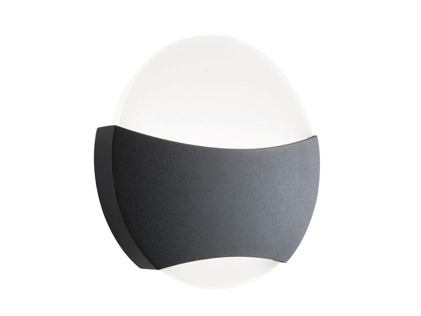LED die cast aluminium Outdoor wall Lamp RIVA by SOVIL
