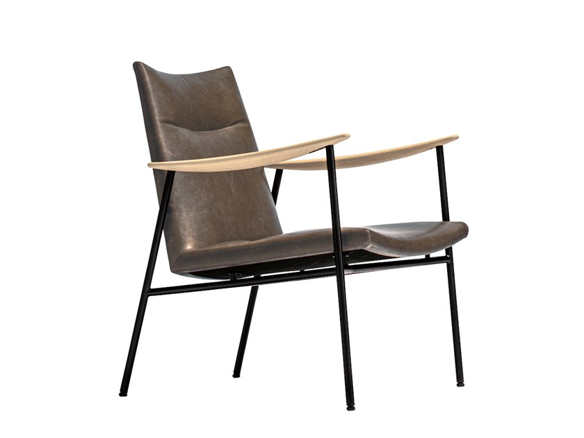 RIVAGE | Easy chair with armrests