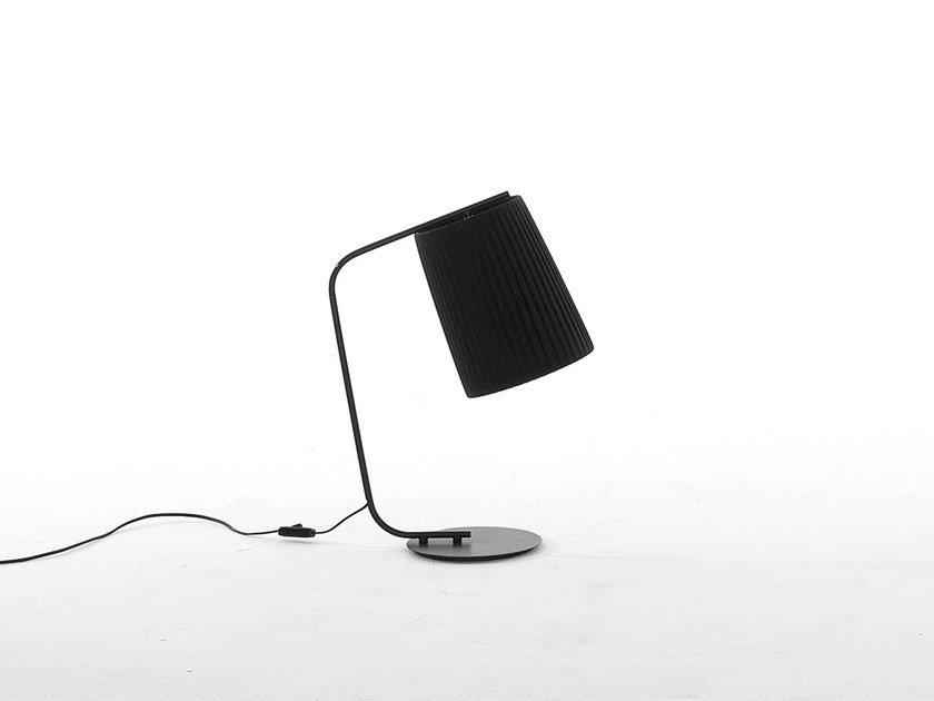 Fabric table lamp with fixed arm RIVALTO | Table lamp by Tonin Casa