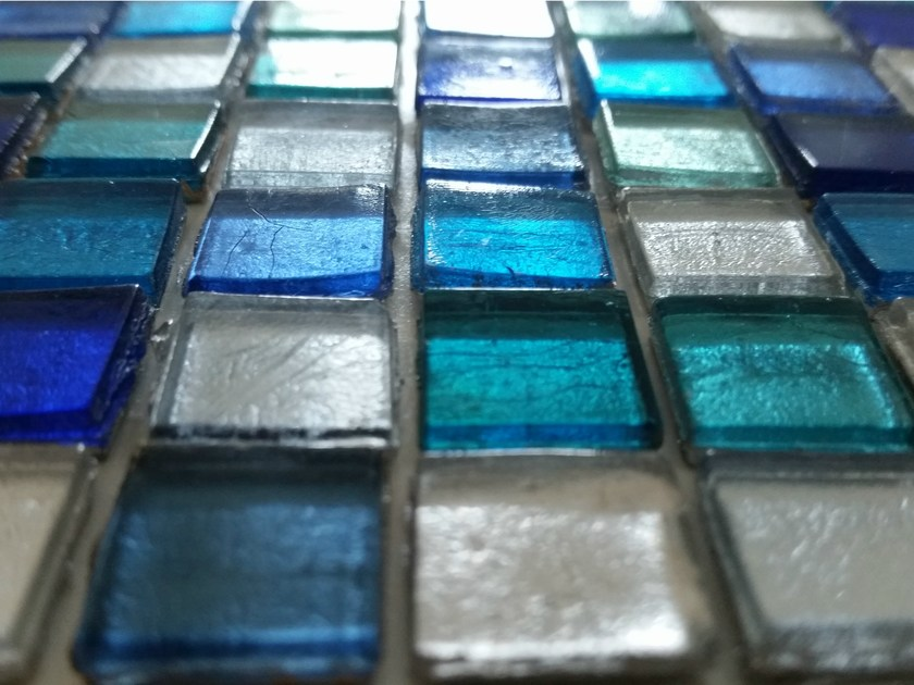 Glass mosaic RIVER SERIES by Brecci Glass