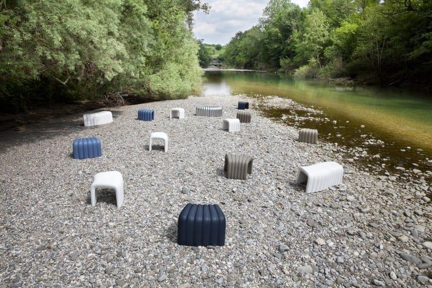 River SnakeSgabello Poliuretano Plus