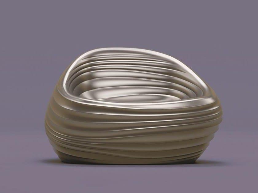 Polyurethane Garden Armchair Riverside By Tonon Design Mac