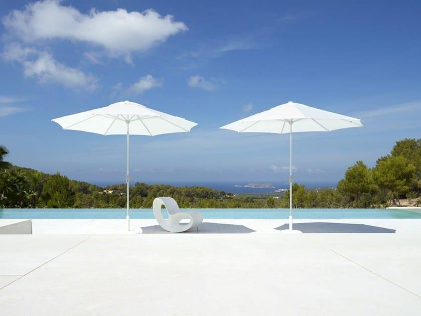 Polyester Garden umbrella RIVIERA by Jardinico