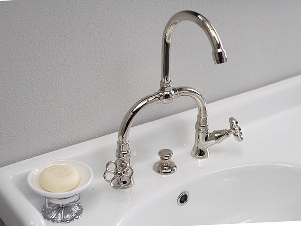 Bridge mixer RL1014 | Washbasin tap by BLEU PROVENCE