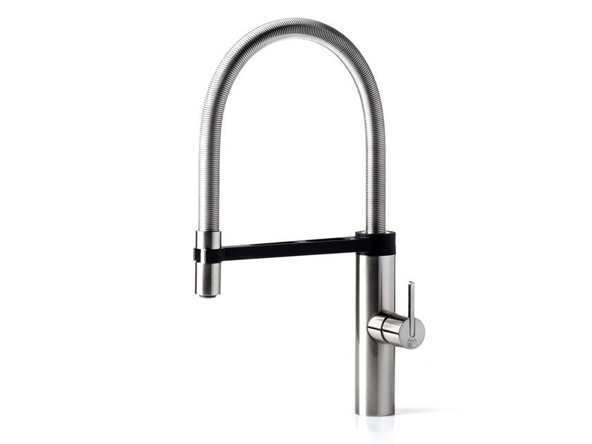 Kitchen mixer tap with pull out spray ROBIN C194 | Kitchen mixer tap by Awa Faucet