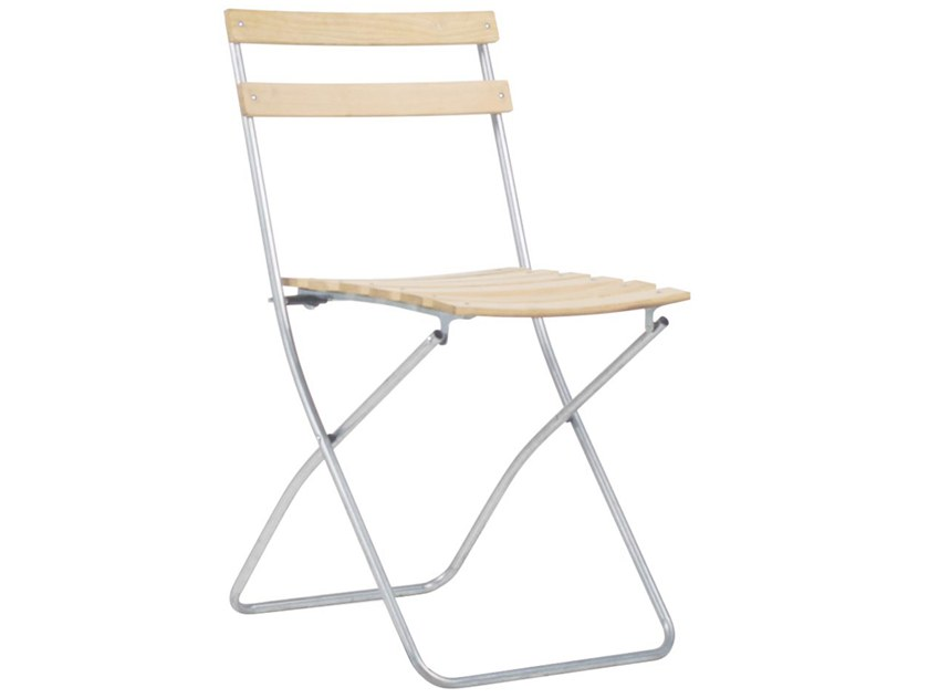 Folding wooden garden chair ROBINIA SPRING by FIAM