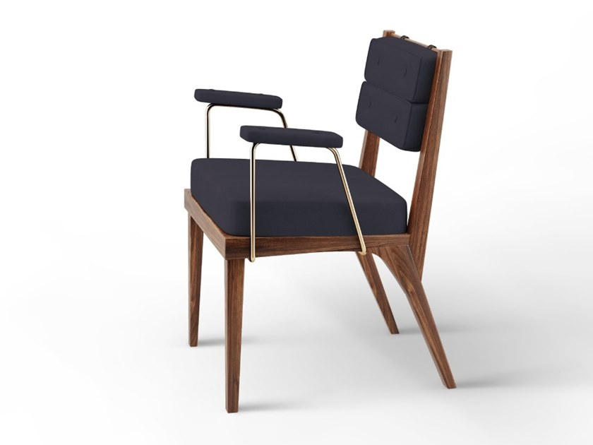 Chair with armrests ROBINSON by Wood Tailors Club