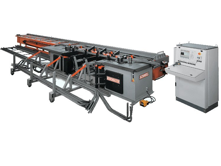 Automatic rebar bending machine for bars ROBOMASTER 45 by SCHNELL
