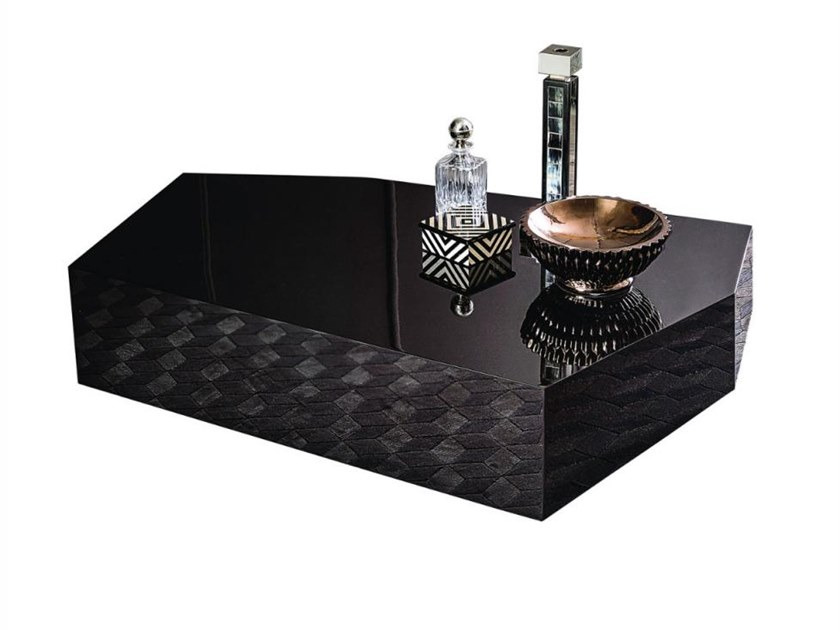 Low lacquered coffee table ROCCO by Casamilano