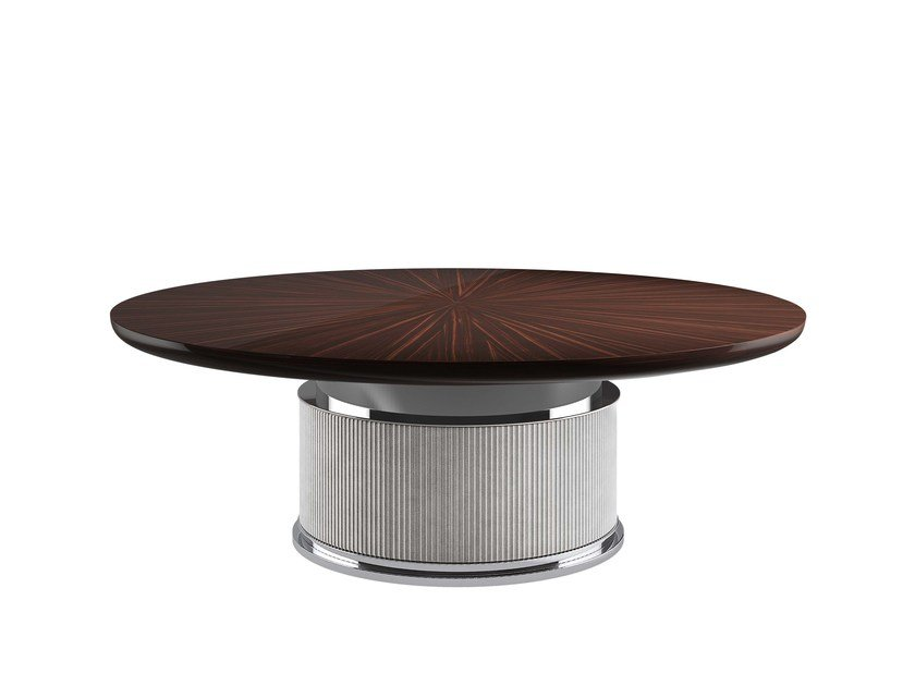 Round dining table ROCK T by Capital Collection