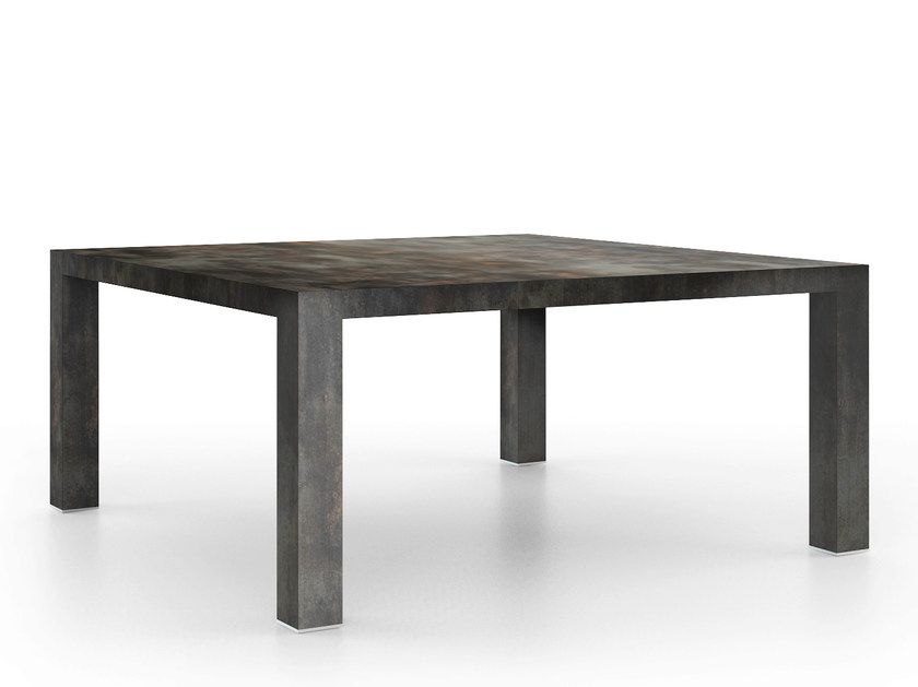 Square HPL table ROCK | Square table by De Rosso